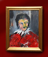 JAMES LAWRENCE ISHERWOOD ORIGINAL OIL PAINTING NORTHERN ART 'CHOIR BOY'