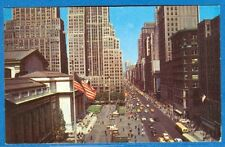 Looking Up Fifth Avenue From New York Public Library, New York, New York, 1955
