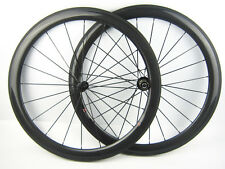 1490g carbon fiber bike cycle wheel 50mm deep clincher 700C road racing wheelset