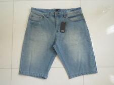 Men's Raw Engineered Classics Distress Look Denim Shorts  Size : 32