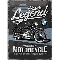 BMW Classics Motorrad Blechschild Nostalgie Schild 40 cm,NEU,Metal shield