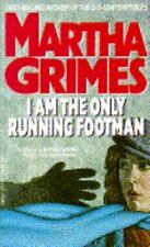 Martha Grimes I Am The Only Running Footman Mystery Novel Book Paperback 1990