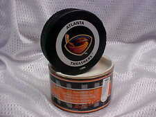 2002 Original NHL Atlanta Thrashers Official On-Ice Hockey Game Puck W/Tube