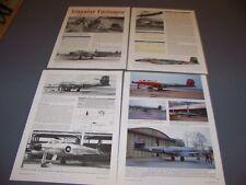 VINTAGE..CANADA AVRO CF-100..HISTORY/DETAILS/UNITS..RARE! (857G)