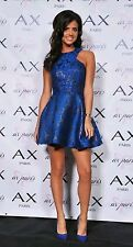 AX PARIS  METALLIC KICK OUT SKATER DRESS SIZE 10 BNWT