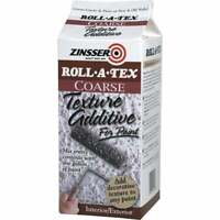 Zinsser Roll-A-Tex Coarse Texture Paint Additive, 1 Lb. 22234  - 1 Each