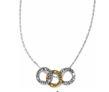 Art & Soul Three Ring Necklace Long Necklace JL1311