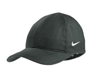 NEW NIKE FEATHERLITE HAT-SWOOSH-DRI-FIT-ADJUSTABLE UNSTRUCTURED BASEBALL CAP