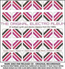 Best Greatest 80's Synth Pop Hits CD Japan OMD Kraftwerk Ultravox Japan It Bites