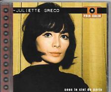 CD COMPIL 10 TITRES--JULIETTE GRECO--SOUS LE CIEL DE PARIS...