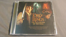 The Lord of the Rings Fellowship of Ring CD Soundtrack Score Howard Shore Enya