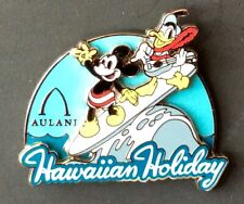 New listing Disney Hawaiian Holiday pin featuring Mickey Mouse and Donald Duck surfing