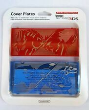 New Nintendo Pokemon Ruby Sapphire New 3DS Translucent Cover Plates Faceplate