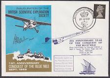 1969/1986 1st&20th Anniv. Conquest of Blue Nile;Concorde;signed Air VM Newton CB