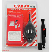 Black 7 in 1 Professional Lens Cleaning Kit+Cleaner Pen For Canon EOS M 1DX G1X