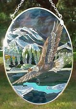 "Bald Eagle 7"" AMIA (tm) Hanging Suncatcher AM 6949"