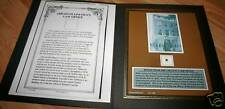 Original Wood from Abraham Lincoln's Law Office w/ COA