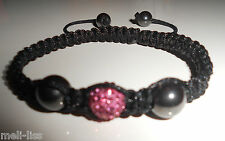 Shamballa Czech Crystal Bracelet - FREE Matching Ring Value  $6.00