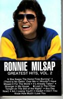 Ronnie Milsap Greatest Hits Vol 2 1985 Cassette Country Folk Rock