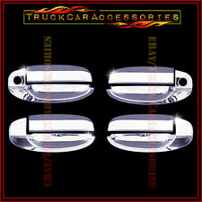 For Aveo+G3 Wave 02-2011 Kalos 2002-2009 G3 2006-11 Chrome 4 Door Handle Covers