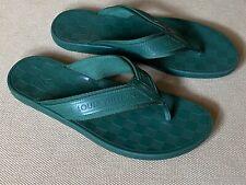 Louis Vuitton flip-flops Sandals Green Damier