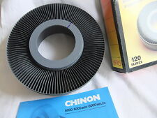 Slide projector slide carousel CHINON 6000 NO BOX NO SPILL TYPE 120 capacity