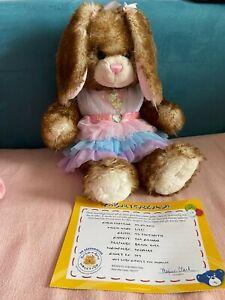 Build a Bear Hase mit Geburtsurkunde und Kleidung