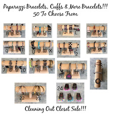 Paparazzi Jewelry Bracelets! Cuffs! 50 To Choose From ~ Closet Sale!