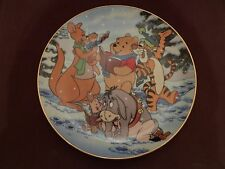 Bradford Exchange Winnie the Pooh A Singing Sort of Holiday Collector Plate
