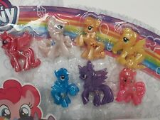 NEW My Little Pony Shimmering Friends Rainbow 7 Mini Figure Collection Set