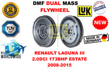 Para Renault Laguna III 2.0dci 173bhp Familiar 2008-2015 Nuevo de Doble Masa Dmf