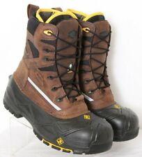 NEW Terra 915507 Crossbow XS Brown Steel Toe EH Winter Work Boots Men's US 10