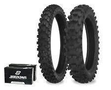 540 Series 100/90-19 80/100-21 Dirt Tire Kit w/ Tubes