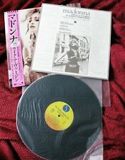 MADONNA MINT JAPAN LIKE A VIRGIN HOLIDAY DISC VINYL PICTURE RECORD PROMO OBI LP