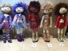 Art Doll handmade cloth stuffed 15 in doll price per one Dolls by Cathenstein