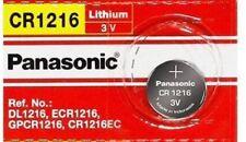 Panasonic 3 Volt Lithium Button Cell Watch Battery (ECR1216 CR1216)