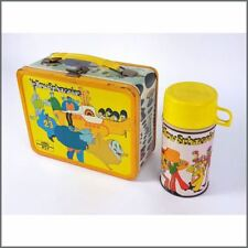 The Beatles 1968 Yellow Submarine Lunch Box & Thermos (USA)