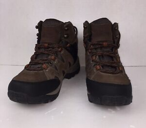 Bass Men's Brown Leather Lace-up Ankle Boots US Size 7 M