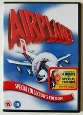 AIRPLANE / CLASSIC 1980 COMEDY DISASTER FILM SPOOF WITH 4hrs BONUS FEATURES NEW