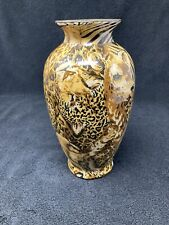Lavie Safari Collection Endangered Species Patchwork Vase
