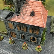 French House Ruins 28mm Tabletop Games Dwarven Forge D&D Terrain Wargaming