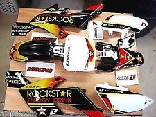 Honda crf 50 pit bike ssr pitster sdg Graphics w plastifcs Rockstar 04-17 black