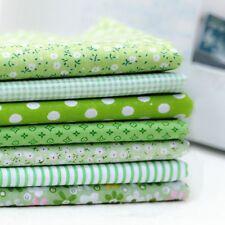 Series 7 pieces Assorted Pre-Cut Fat Quarters Bundle Charm Cotton Quilt Fabric