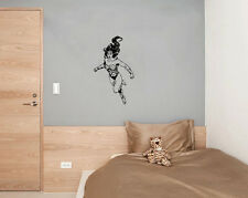 Wonder Woman Justice League Super Hero Bedroom Decal Wall Art Sticker Picture 4