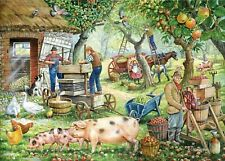 House of Puzzles 1000 piece jigsaw puzzle - Cider Makers - New & Sealed