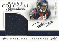 2016 National Treasures Rookie Colossal Signature #6 Will Fuller Auto Jersey/99