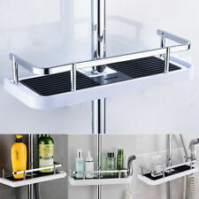 Bathroom Toilet Shelf Shower Pole Storage Caddy Rack Hplder Tray Rack #HN