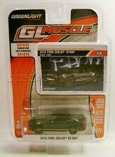 2010 '10 FORD SHELBY GT500 MUSTANG BLACK  DIECAST GL MUSCLE R16 GREENLIGHT 2016
