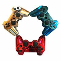 New Custom Chrome Wireless DualShock Gamepad for Playstation 3 PS3 Controller