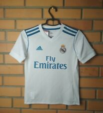 Real Madrid Home football shirt 2017-2018  Nacho kids S 9-10 y.  jersey Adidas